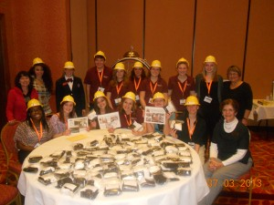 Zonta birth kit HOSA group picture 2013