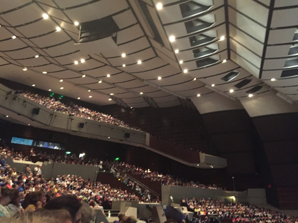 The 2016 convention center filled to the top with Zontians from all over the world.