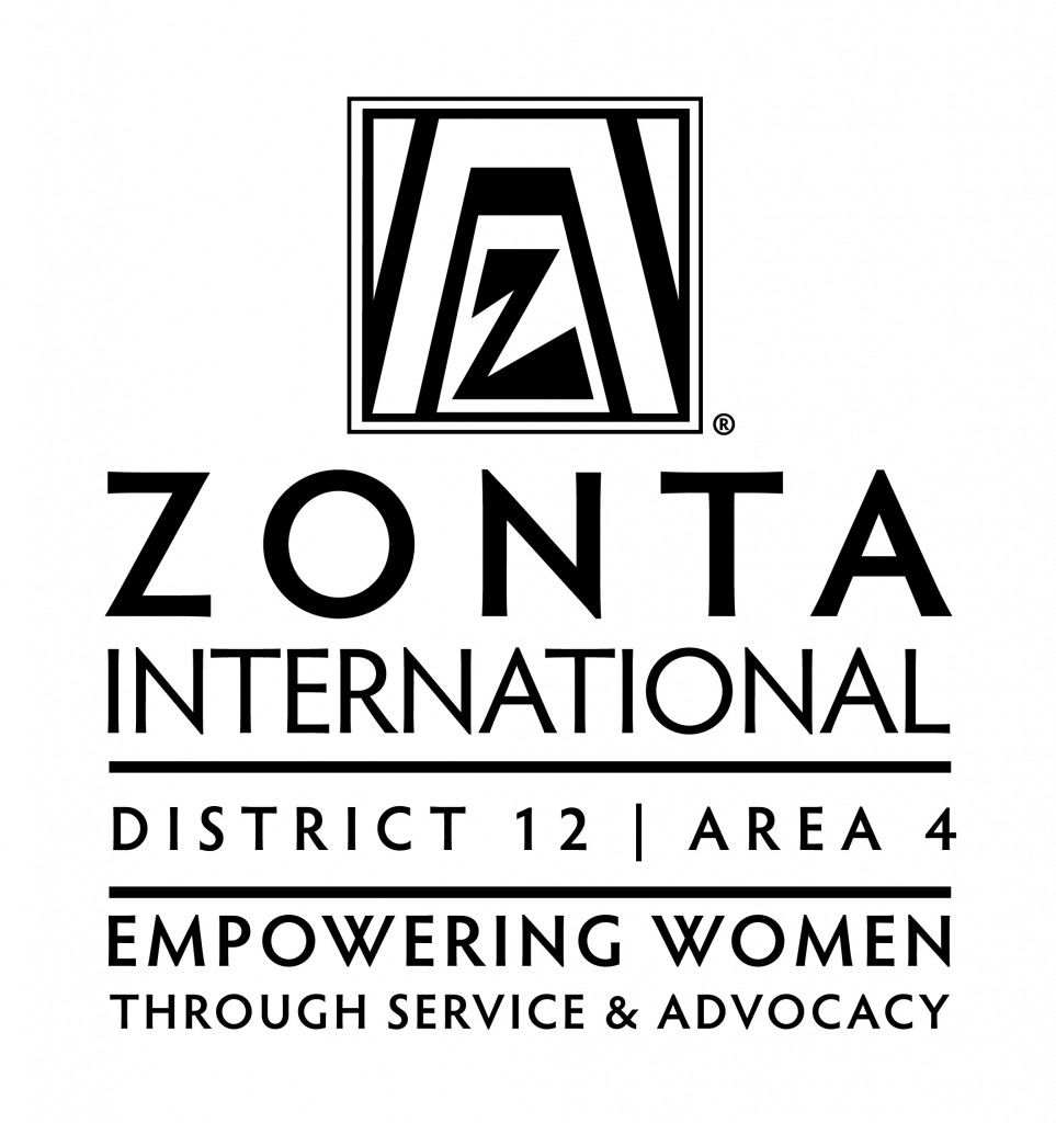 Zonta District12_Area4_ Logo_Vertical_BW