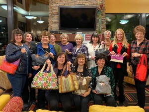 Our 2019 Holiday Giving project was to fill purses with toiletries and personal items for distribution to needy women at The Crisis Center.